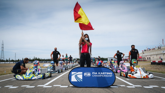 World Championship in Brazil cancelled, OK and OKJ categories will race in Spain