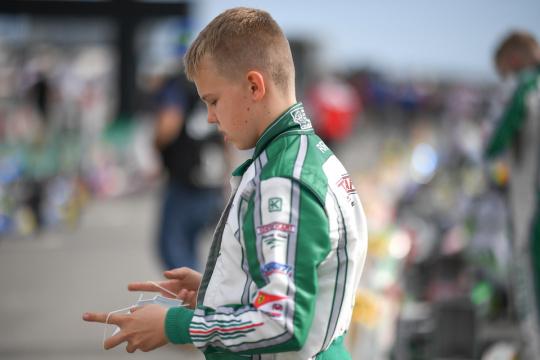 Rehm with Ricky Flynn Motorsport in Adria