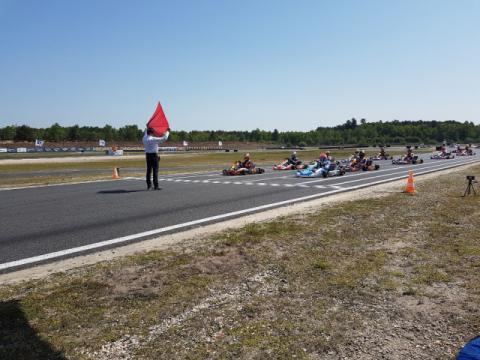 Kart Grand Prix of France - Saturday, report