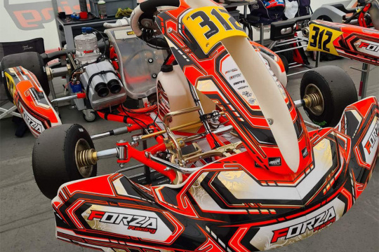 Mark Kastelic back in Lonato with Forza Racing team