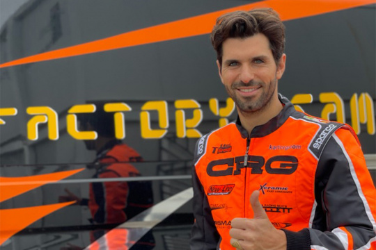 Jaime Alguersuari-CRG: it's official. The Spaniard is ready to get back on track