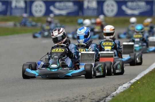 Potty to start from pole in the Academy Trophy
