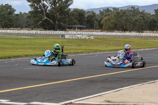Youngest ever Junior Vortex winner at Australian Kart Championship