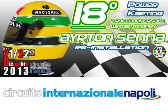 "18° Trofeo Invernale ""Ayrton Senna"" Re-installation Round"