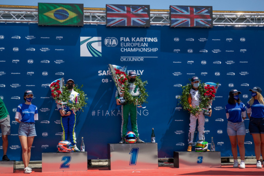 FIA Euro Sarno, Final - Keeble wins at the photo finish, Antonelli leader of the general standing
