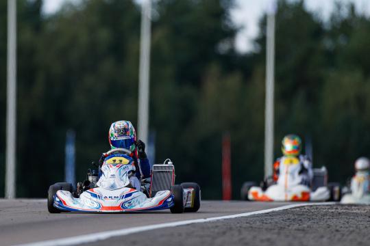 FIA World Championship KZ/KZ2 - Antonelli and Van Walstijn the masters of pole position