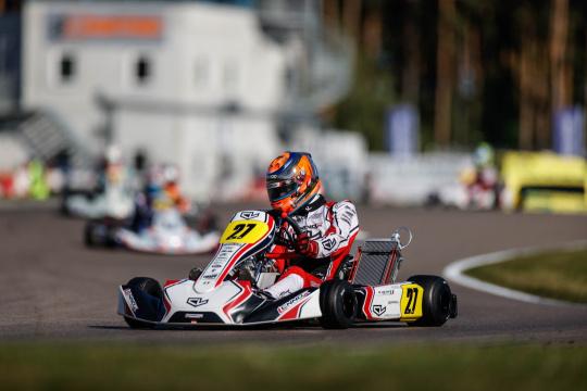 FIA World Championship KZ/KZ2, heats - Viganò and Trefilov in the lead