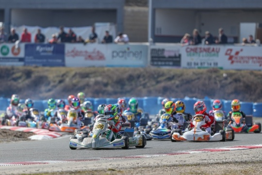 The 2018 IAME Euro Series kicks off with spectacular first race in Salbris