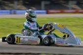 Tony Kart in the top 5 list of the FIA Karting World Championship for OK class in Sweden.
