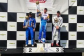Delré on his victory in the Iame Euro Series.
