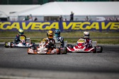Unlucky start for the Team in the WSK Euro Series.
