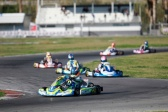 Laurens van Hoepen fast but unlucky at the WSK Euro Series premiere.