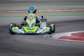 Laurens van Hoepen ready to fight in the WSK Champions Cup.