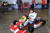 """Russell """"back"""" in kart to get ready for F1."""