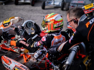 The Team ready for the double WSK trip to Sarno.