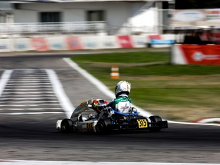 Gamoto in Siena for the third round of ACI Karting.