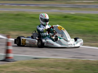 Gamoto wins again in ACI Karting.