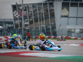 Plenty of experience for Tom Braeken in the WSK Champions Cup.