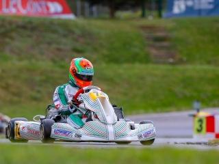 Viganò pole and podium at the KZ European debut.