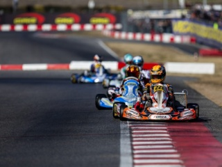 The Team is ready for the WSK Super Master Series round of La Conca.