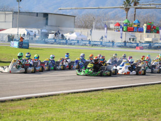 Gamoto Kart ends the season with a podium at the Trofeo Senna.