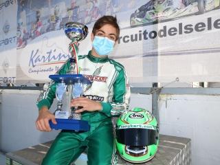 Gamoto Kart wins the Coppa Italia in X30 Junior.