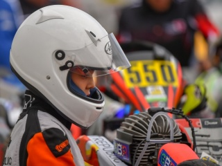 Enzo Bettamio's ready for the French round of the WSK Euro Series.