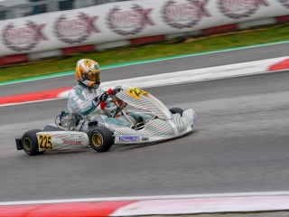 Matheus Morgatto, Tony Kart's new star