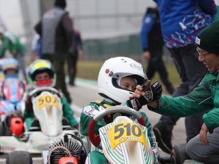 Good first run for Gamoto Kart at the Adria Karting Raceway.