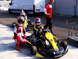 Fewtrell and Lundgaard on track with Birel ART and Renault.