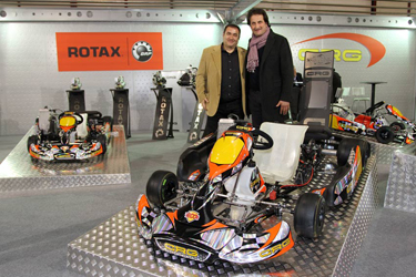 "Crg products at the ""Kart and Race"" fair of Montichiari"