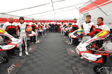 ART Grand Prix join forces with FFSA to support French Kart drivers