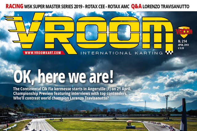 Vroom International April 2019 out now!