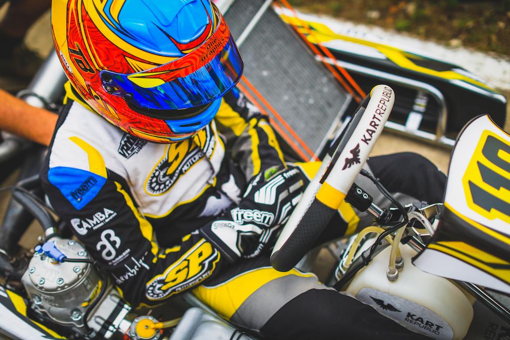 Good progress for Braeken at his first FIA OKJ European round