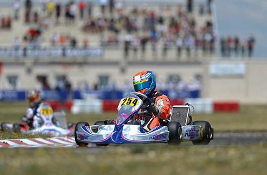 Joyner and Haaga the new European winners at Zuera | Kart News