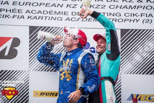 In KZ, Thonon wins and Dreezen takes the lead