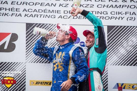 In KZ, Thonon wins and Dreezen takes the lead