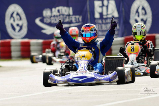 European victory for Praga Kart Racing