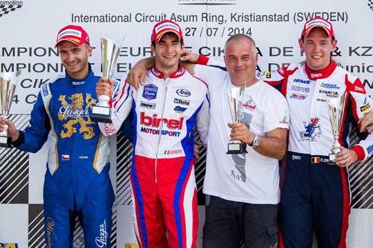 De Conto wins the KZ Euro final, Dreezen the title