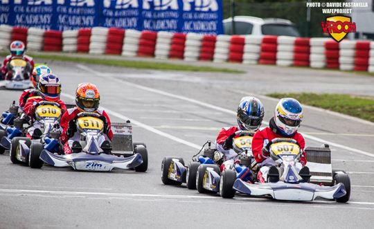 Vromant won and Ota took the lead in the CIK-FIA Karting Academy Trophy