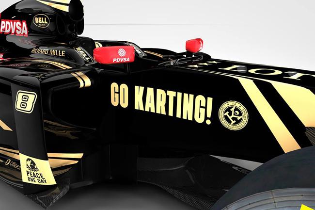 Lotus F1 Team supports Karting!