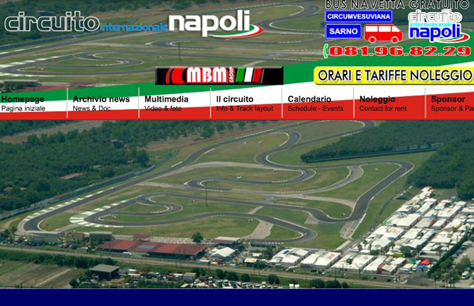 Circuito Internazionale Napoli to host the 2016 RMCGF