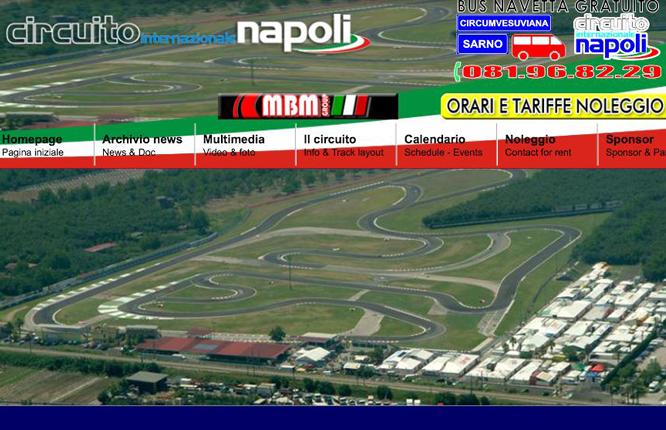 Circuito Internazionale Napoli to host the 2016 RMCGF