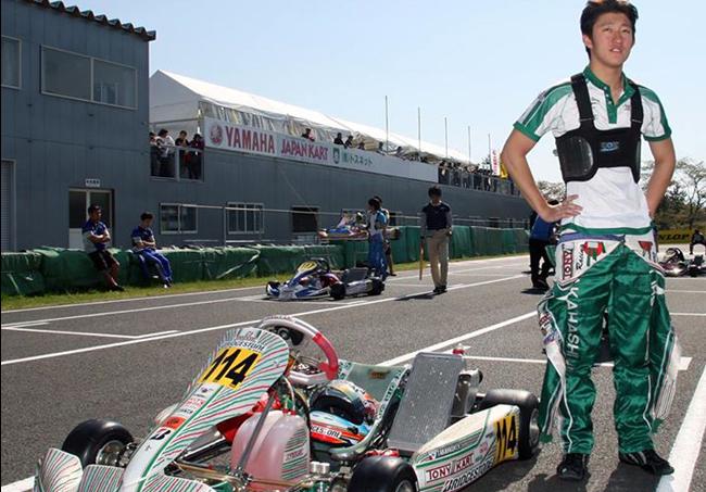 Takahashi wins the 2015 CIK-FIA Asia-Pacific KF Championship