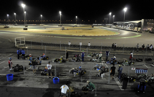 The World CIK-FIA Championship KF-KFJ ends in Bahrain