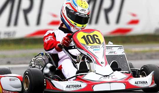 ART Grand Prix on top in Castelletto