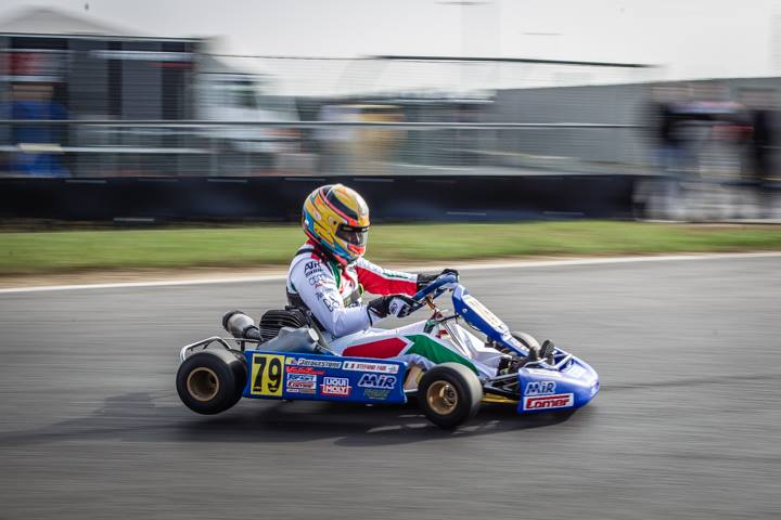 Throwback karting in Lonato