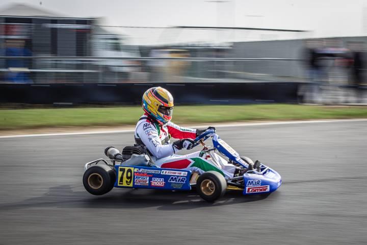 Throwback karting in Lonato