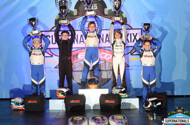 Benik Kart dominates Supernationals TAG Cadet