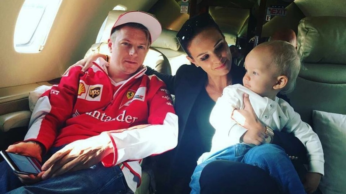 Raikkonen Jr already in Kart!